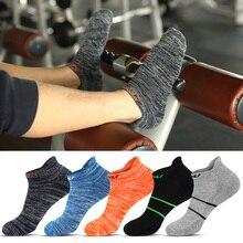 KUNLI mens Brand Socks Sport badminton tennis Quick Dry Breathable Warm Absorb Sweat Antibacterial For 4 Season