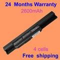JIGU аккумулятор для Ноутбука ASUS A32-K53 A41-K53 X84SL P53E Pro4J K54H K53U A43 X53SV PRO5N X84 A83 K43 Series X8LY 07G016H31875