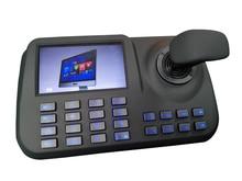 Cámara de conferencia IP ptz controlador onvif joystick con monitor pantalla LCD de 5 pulgadas