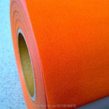 CDF-07 оранжевый цвет Отличное качество Теплообменный Флокированный виниловая пленка теплоотвод для теплопередачи машина Лидер продаж