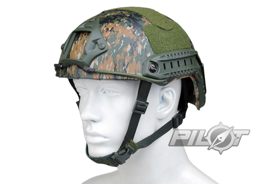 2015 NEW Kryptek Typhon Pilot FAST Helmet Airsoft MH adjustable ABS helmet (PH0601-Woodland Digital) спальный мешок woodland pilot 250