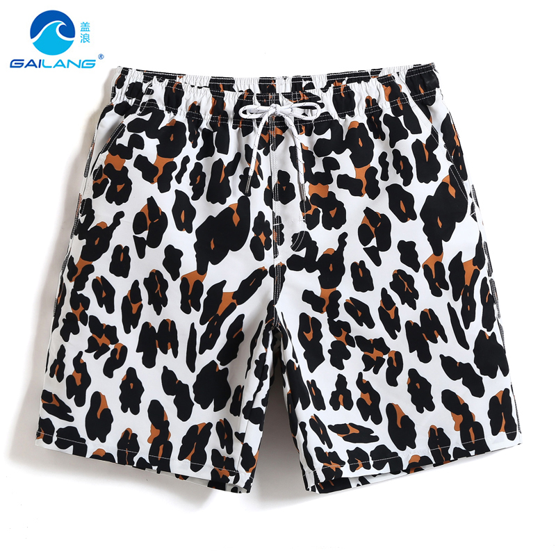 New Men's swimming trunks quick dry surfing swimsuit beach   shorts   hawaiian sexy swimwear surfboard liner   board     shorts   printed