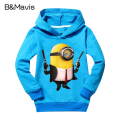 Brand Cartoon Anime Children Hoodies Despicable Me Kids Jackets & Boys Coat  Minions Girls Clothes Child Clothing 2016 Hot