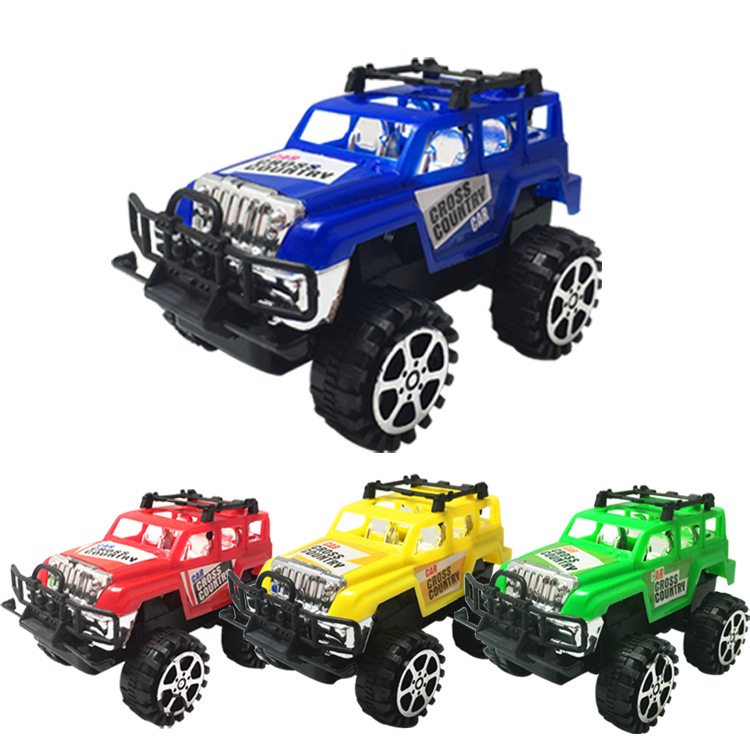 Off Road Vehicles Mini Model Racing Glide Pull Back Toy Car Plastic Toys For Children Boys Gifts 4 Color (Not Electric RC)