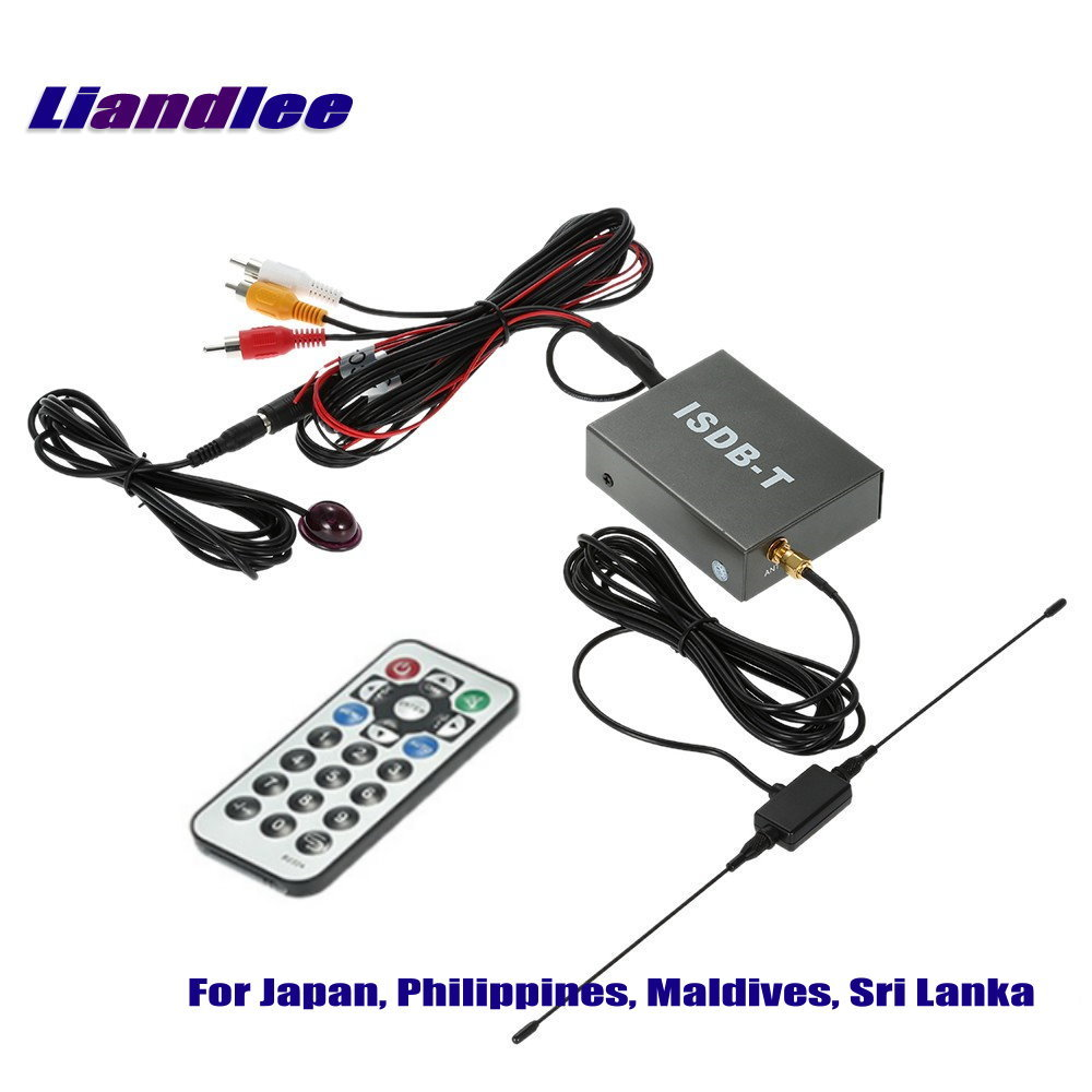 Liandlee Car Digital TV Receiver ISDB-T D-TV Mobile HD TV Turner Host For Japan, Philippines, Maldives, Sri Lanka / Model T502