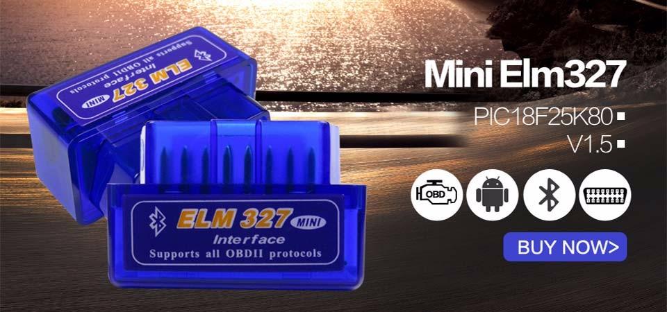 Super Mini Elm327 Bluetooth OBD2 V1.5