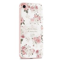 Gview High End Case For IPhone 7 8 Soft Phone Case 3D Relief Silicon Classical Retro