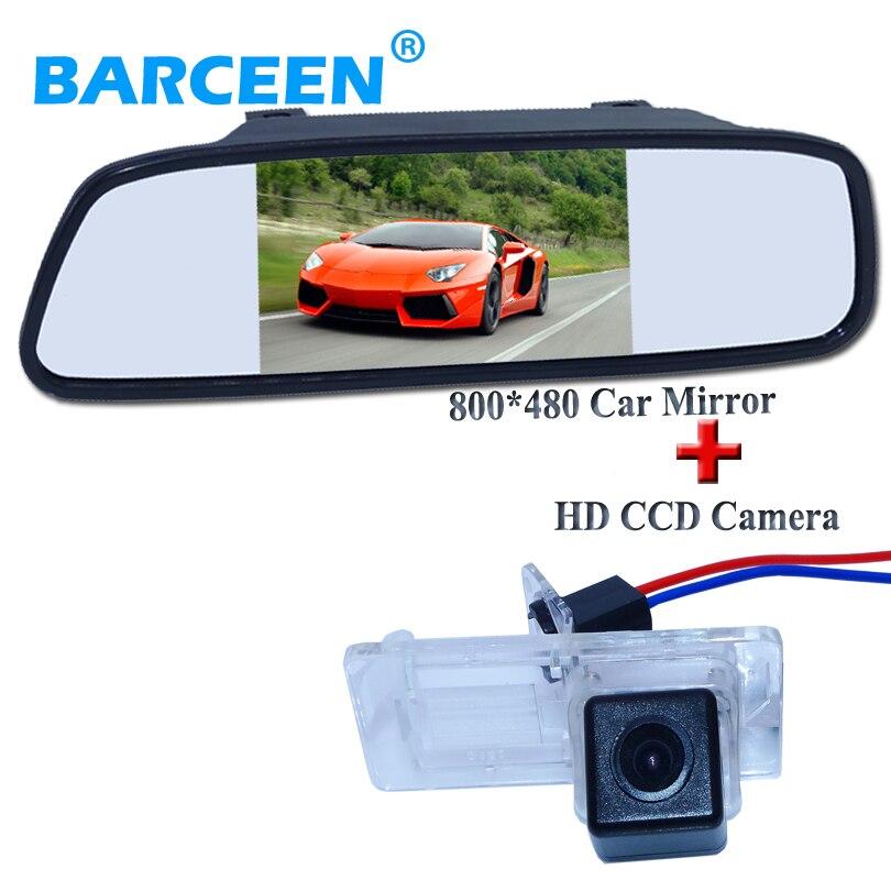 5 car back up invertendo monitor espelho + à prova de choque do carro uso da câmera para Renault Fluence/Dacia Duster/Megane 3/para Nissan Terrano