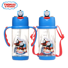 THOMAS Childrens cold water cup 390ml Baby drinking Large capacity 2019 new genuine Babys favorite bottle