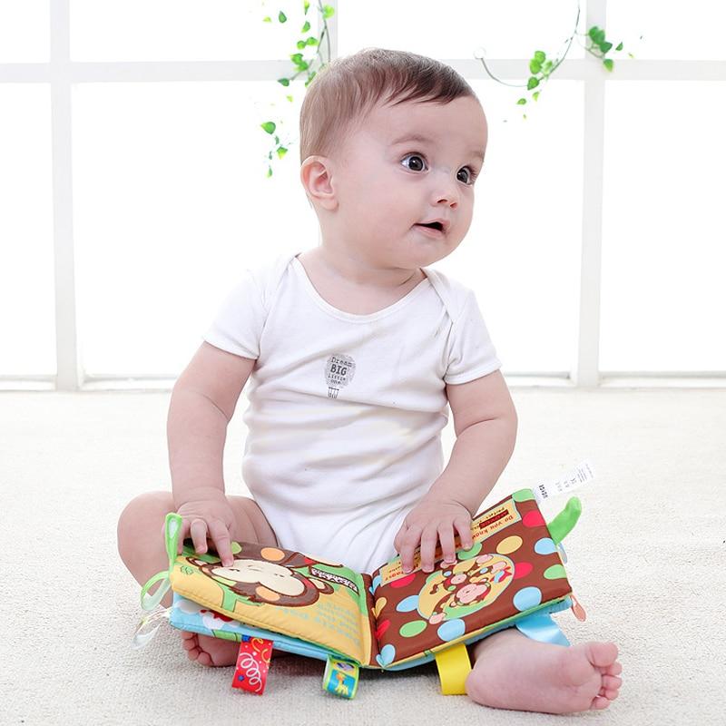 3D Aprendizagem Educação Bebê Livro Brinquedos Livros Pano Infantil Desenvolvimento Cognitivo Cedo Meu Livro Tranquilo Cuentos Libros Bebes
