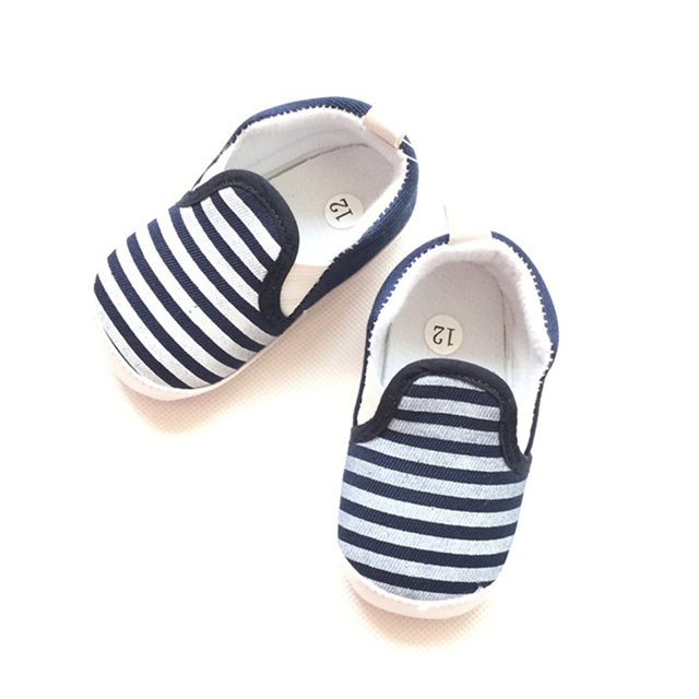 e9bc35272042 Fashion New Autumn Winter spring summer stripe Baby Shoes boys Girls First  Walkers Newborn Crib Shoes