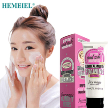 HEMEIEL Foam Cleanser Face Wash Hyaluronic Acid Deep Cleaning Moisturizing Nourishing Whitening Face Wash Skin Care 150 ml vlanse milk face wash facial cleanser nourishing cleanser foam moisturizing whitening face cleaner marks deep clean cosmetics