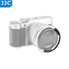 JJC Camera 52mm Aluminium Zonnekap Schroef Adapter Ring Voor FUJINON X T100 XC15 45mm F3.5 5.6 OIS PZ Lens