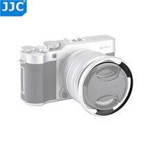 Jjc カメラ 52 ミリメートルアルミレンズフードネジ用フジノン X T100 XC15 45mm F3.5 5.6 OIS PZ レンズ