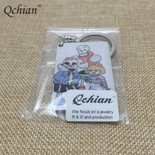 One Piece Anime Print Keychain Holder