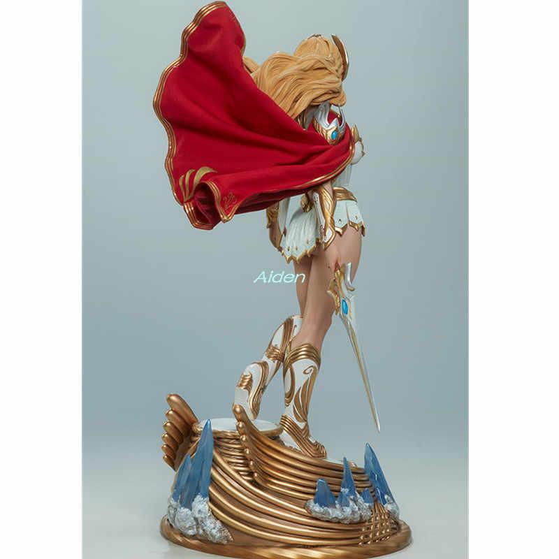 """20 """"Аниме сексуальные фигурки статуя He-Man бюст She-Ra полноразмерный портрет PF имитация искусства ремесло GK фигурка игрушка 51 см B1061"""