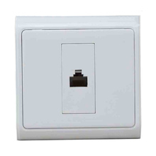 New N86-901 606Y RJ45 Socket Pressure line Panel Computer Network Plug 86X86MM  Wall Plate  Network Panel Socket computer network