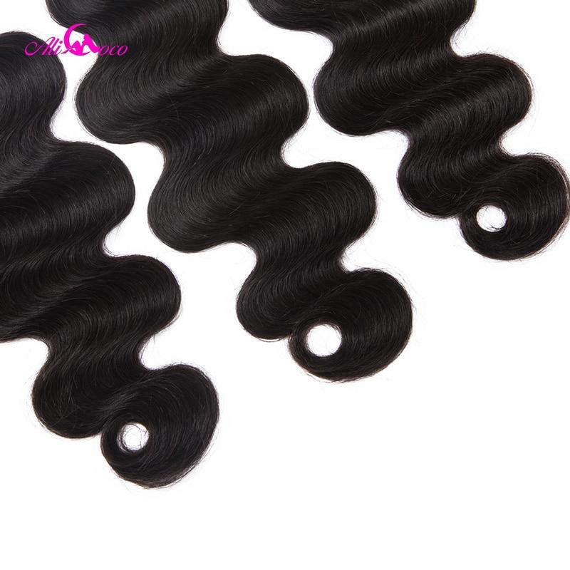 Ali Coco Human Hair 3 Bundles– ის ბრაზილიის - ადამიანის თმის (შავი) - ფოტო 6