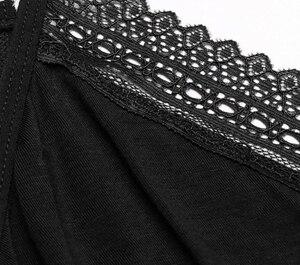 Image 5 - Sexy Cotton Nightgown Women Sleeveless Strap Nightwear Sleepwear Female Lounge Wear Night Dress Home Sleepshirt Nighty