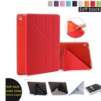 Good TPU Silicone Flexible Soft Leather Case For Apple Ipad Air 1 2 Ipad 2 3