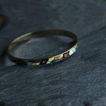 Chinese Style ethnic Fashion jewelry wholesale Cloisonne enamel bracelets  E-164