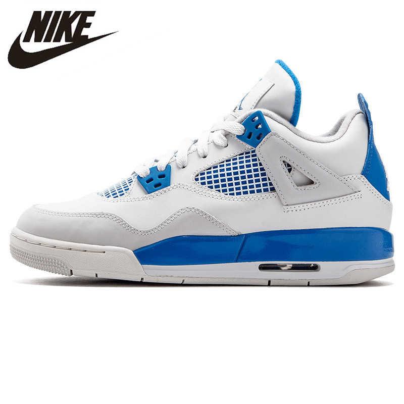 c0a4b034bda Nike Air Jordan 4 Retro Original Men's Basketball Shoes, Shock-absorbing  Outdoor Sports Shoes