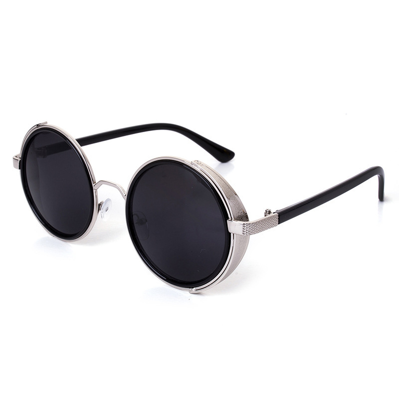 Top 10 Brands For Sunglasses  aliexpress com 2016 round steampunk sunglasses women metal