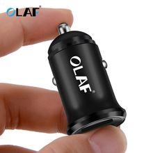 OLAF Mini USB Car Charger For Mobile Phone Tablet GPS 4.8A Fast Charger Car-Char