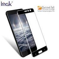 IMAK Sfor HTC U11 Glass Tempered Flim 3D Full Curved Screen Protector For HTC U11 5