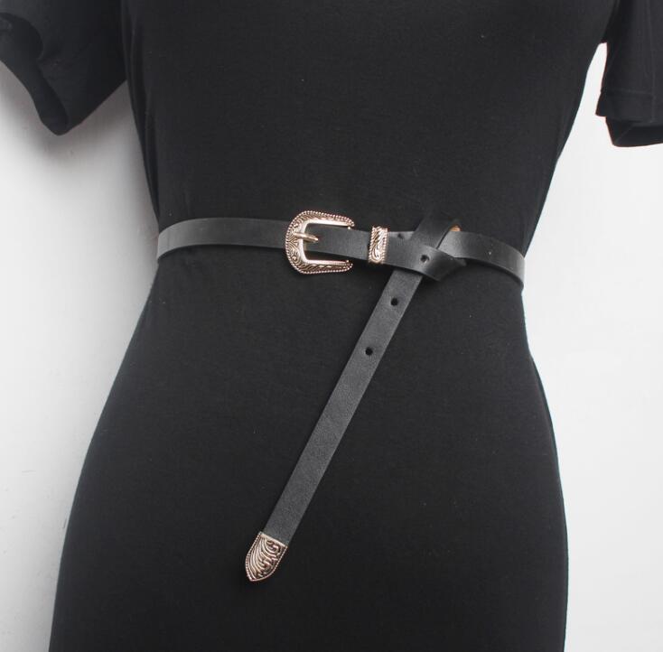 Women's Runway Fashion Vintage Pu Leather Cummerbunds Female Dress Corsets Waistband Belts Decoration Wide Belt R1689