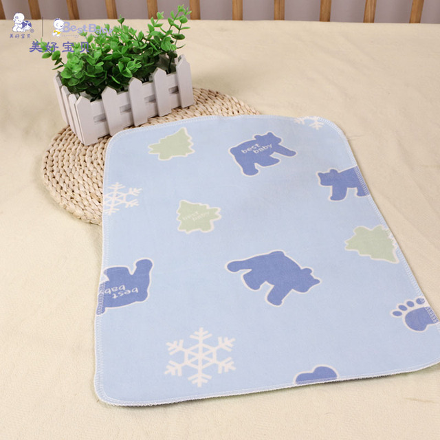 Best Baby Waterproof Soft Small Size Mattress Protector Diaper Changing Pad Newborn Ny