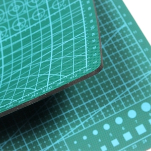 "Image 5 - PVC Cutting Mat a4 ""9 Sea"" Durable Self Healing Handmade DIY Quilting Accessories Flexible Green Patchwork Board Tool 30*22 cm"