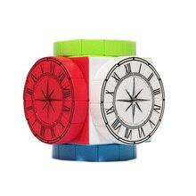TimeMachine часы в необычной форме куб профессиональный для магического Куба скоростные кубики головоломка Cubo magico детские игрушки