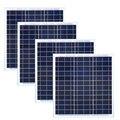 Панель солнечных батарей 12 В 40 Вт 4 шт. панели Solares Para El Hogar 160 Вт солнечная батарея Солнечное зарядное устройство для телефона Rv Аксессуары ло...