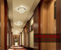 Free Shipping Modern Fashion Hallway Lights 3W Corridor Lights Led Crystal Lamp Abajur For Home Luminaire