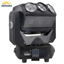 9x12 W RGBW LED wiązki nieskończona światła DMX512 X/Y nieskończone obrót rolki pająk światła poruszającego się głowy światła Oświetlenie sceniczne Lampy i oświetlenie -