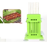 Food Grade Beef Mutton String Device Automatic Stringing Machine Barbecue Skewer Artifact For BBQ Making Machine Kebab