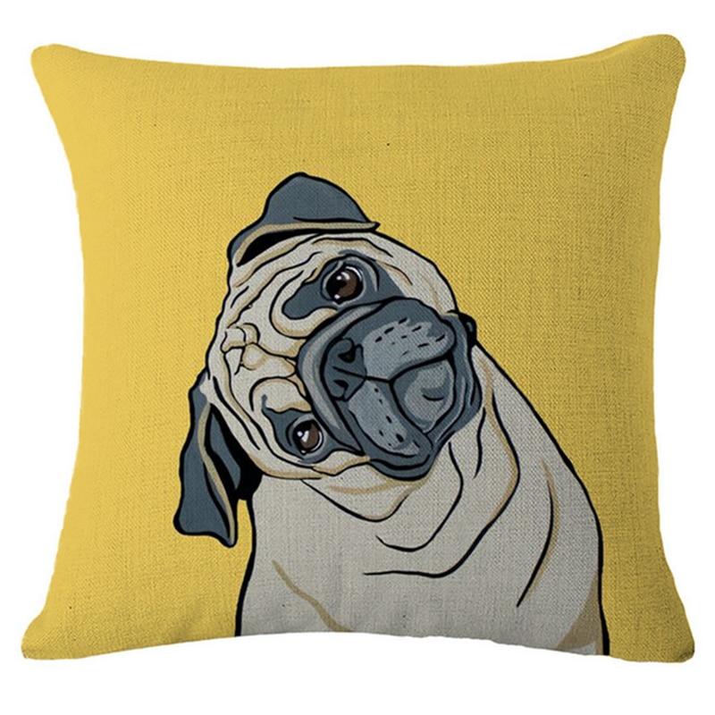45x45 cm Boston Bull Terrier Cane Carlino Animale Vintage Home Decor ...