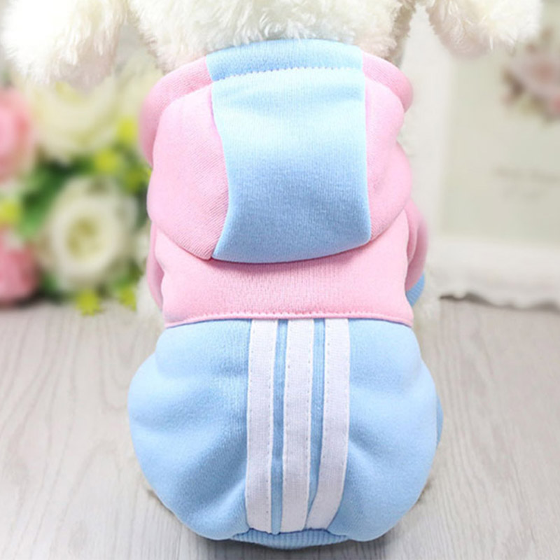 Pet Dog Clothes Hooded Cotton Winter Clothing For Dogs Cute Dog Clothes Winter Pet Coat Clothing For Dog Yorkie Chihuahua Hoodie