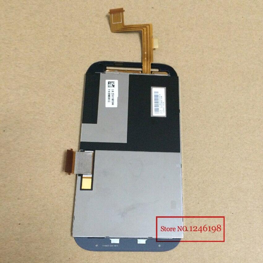 100% de garantía a prueba de pantalla lcd full con pantalla táctil digitalizador asamblea para htc desire sv desire p t326e teléfono partes