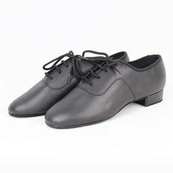 Boys Standard Dance Shoes BD 702 Black Straight Dance Shoes Dancesport Shoes Ballroom Dance Shoe Waltz Tango Foxtrot Quickstep