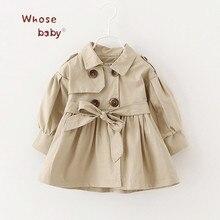Nouveau-né Bébé Fille Vêtements 2017 Automne Arc Manteau Infantile Vêtements Pour Enfants Outwear Bébé Filles De Mode D'hiver Vêtements Bébé Manteaux