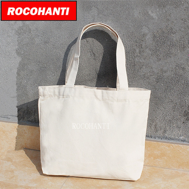 Blank Canvas Bag Eco Custom Reusable Ping Promotional