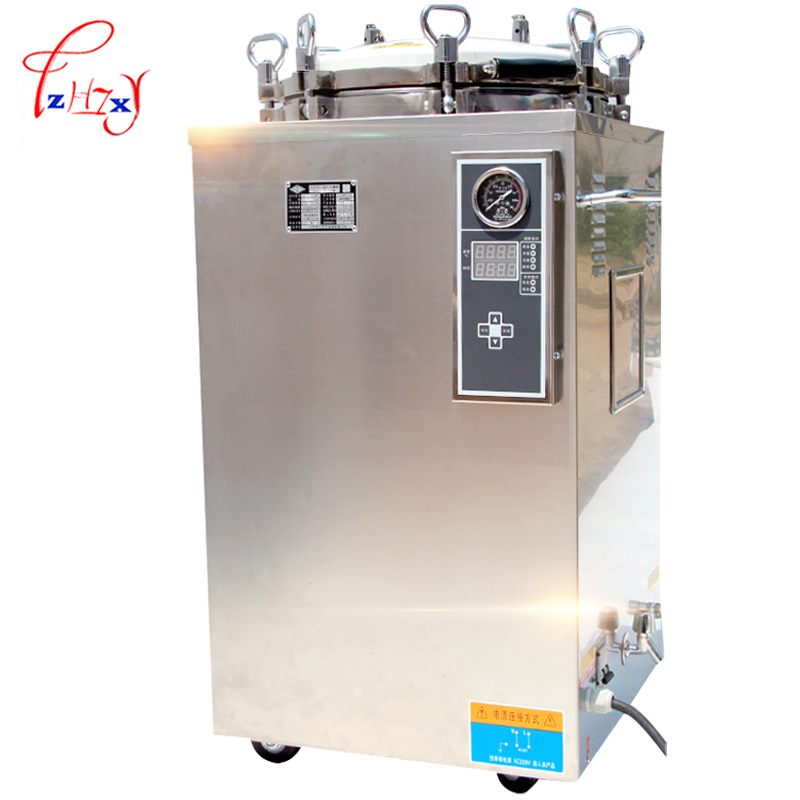 Automatic Autoclave Steam Sterilizer 2500w Vertical Digital Display High Pressure Steam Sterilizer Sterilization Pot LS-35LD 1pc