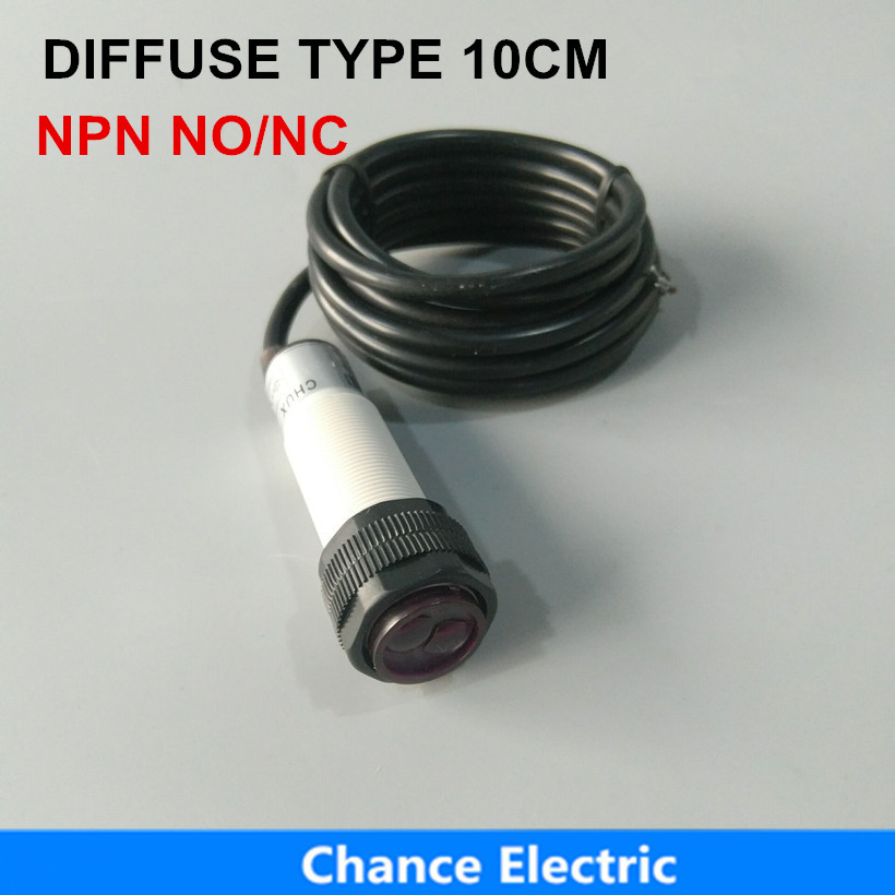 Lighting Accessories e18-3a10na/nb Lights & Lighting Free Shipping E3f 10cm Distance 6-36v Ir Photoelectric Position Infrared Sensor Switch Npn
