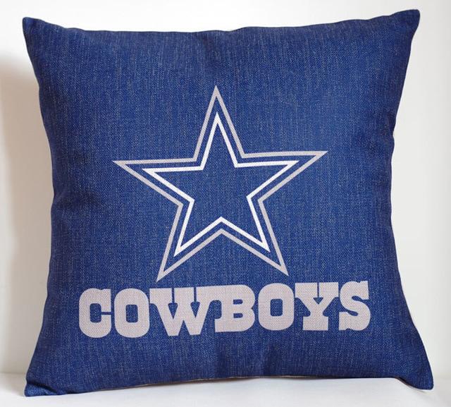 Fashion Dallas Cowboys Pillow Case Simple Logo Dallas Cowboys Throw Impressive Dallas Cowboys Decorative Pillow