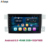 9 Inch 1024 600 Quad Core 2 Din Android 4 4 CAR GPS CAR DVD