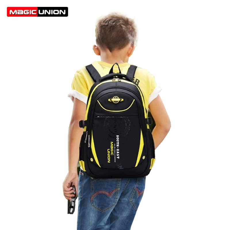 MAGIC UNION High Quality School Bags for Boys Girls Children Backpacks Primary Students Backpack Waterproof School Bag Book Bag 2016 high quality orthopedic camouflage school bag for boys girls red children waterproof backpack burden school book bags