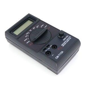 Image 5 - CM7115A pratique condensateur mètre numérique multimètre LCD affichage outil de mesure avec intégration à double pente système de convertisseur A/D