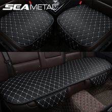 цена на Car Seat Covers PU Leather Seat Cover Automobiles Universal Auto Interior Cushion Four Seasons Protect Set Chair Mat Accessories
